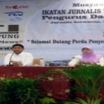 IJTI Lampung Gelar Diskusi Publik Perda Penyelenggara Televisi Daerah