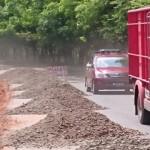 Bina Marga Lampung Terus Perbaikan Jalan Provinsi