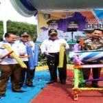 Gubernur Lampung Launching Program Gerakan Membangun (Gerbang) Desa Saburai