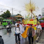 Salib Asian Youth Day 2017 di Gereja Santa Maria Fatima Banyumanik
