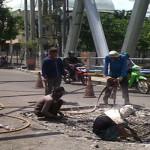 Warga Rawajitu terganggu akibat jembatan rusak