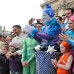 Paus kepada para pemain sirkus: keindahan itu baik untuk jiwa