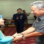 Kepala Perwakilan BKKBN Lampung Paulina Yohana Perkenalkan diri pada Pemerintah Provinsi Lampung