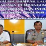 Polda Lampung Gelar Sosialisasi Analisa Dampak Lalu Lintas