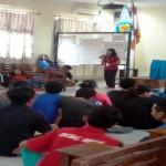 Sr. M Francis LS, FSGM Tutup Diklatpimas STIE Gentiaras Bandar Lampung