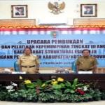 Wakil Gubernur Lampung Buka Diklatpim Tingkat III Angkatan I dan II Tahun 2016