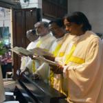 Sore ini, Seluruh Imam di Keuskupan Tanjungkarang berkumpul di Gereje Santo Yohanes Rasul Kedaton