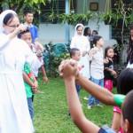 Biara Suster FSGM Pahoman Bandar Lampung gelar Paskah bersama anak-anak