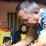 Pemerintah Provinsi Lampung membentuk 8.810 Pos PINPolio