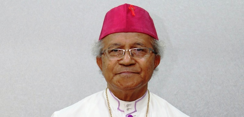 Uskup Keuskupan Pangkalpinang Mgr Hilarius Moa Nurak SVD. Foto : Sesawi.net