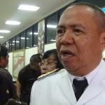 Wakil Gubernur Lampung Bachtiar Basri menerima kunjungan Ombudsman RI