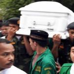 GP Ansor Hadiri Upacara Pemakaman Uskup Pangkalpinang