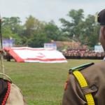Kwartir Cabang Kabupaten Lampung Tengah menjadi peserta terbanyak se-Indonesia di Jamnas Cibubur 2016