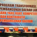 Rihdo berharap BPD mampu bertindak sebagai agent of regional development terhadap perekonomian di Lampung