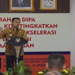 Gubernur Lampung Ridho Ficardo Serahkan DIPA APBN 2017
