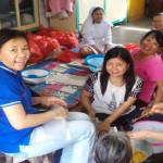 Umat Katolik dari berbagai elemen dirikan dapur umum untuk korban terdapak banjir di Bandar Lampung