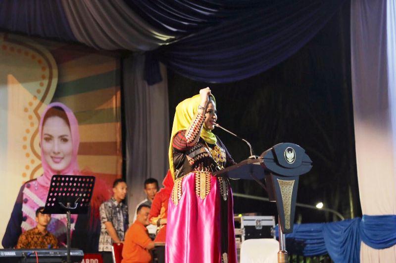 Ketua Umum Pengurus Provinsi PDBI Lampung Yustin Ridho Ficardo.