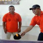 Wagub Bachtiar Basri buka Tournamen Futsal dan Tenis Meja antar Instansi di Lingkungan Pemprov Lampung