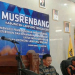 Wakil Gubernur Lampung Bachtiar Basri Buka Musrenbang Lampung Tengah