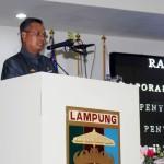 Sekda Lampung Sampaikan LKPJ Kepala Daerah Provinsi Lampung Tahun Anggaran 2016