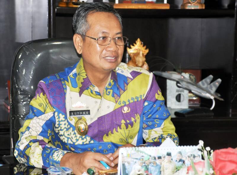 Sekretaris Daerah Provinsi Lampung Sutono.