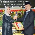 Pemprov Lampung Kembali Raih Opini Keuangan Wajar Tanpa Pengecualian