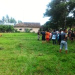 Seorang yang diduga ingin mencuri di rumah warga Desa Way Gelam dihakimi massa
