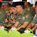 Gubernur Lampung M.Ridho Ficardo Lakukan Safari Ramadhan Bersama KASAD Jenderal TNI Mulyono