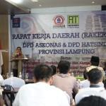 Adeham Buka Rakerda II DPD Askonas Provinsi Lampung