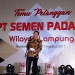 Gubernur Ridho Ajak Semen Padang Dukung Infrastuktur Lampung