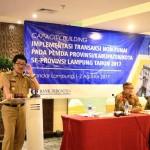 2018, Pemprov Lampung Genjot Pengimplementasian Transaksi Non Tunai