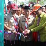 Gubernur Ridho Bangun Jembatan Gantung untuk Warga Pringsewu