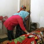 Terbaring Tiga Bulan, Yustin Ficardo Jenguk Korban Kecelakaan