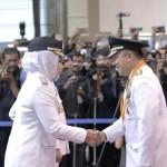Gubernur Ridho Lantik Winarti dan Hendri Wansyah sebagai Bupati dan Wakil Bupati Tulang Bawang