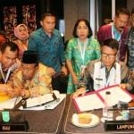 Pemprov Lampung Lakukan MoU Produk Unggulan dengan 33 Provinsi