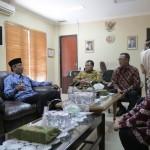 Pjs. Gubernur Didik Kunjungi Kantor KPU dan Bawaslu Provinsi Lampung