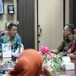 Pjs. Gubernur Didik Beraudiensi dengan KPU dan Bawaslu untuk Persiapan Deklarasi Netralitas ASN