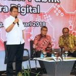 Gubernur Ridho: Pemprov Siap Bersinergi dengan Kementrian Kominfo Perangi Hoak