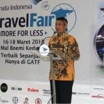 Pjs. Gubernur Didik Buka Garuda Indonesia Travel Fair 2018