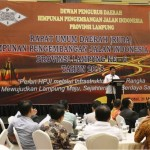 Pemprov Harapkan Peranan Aktif Himpunan Pengembangan Jalan Indonesia dalam Pembangunan Lampung