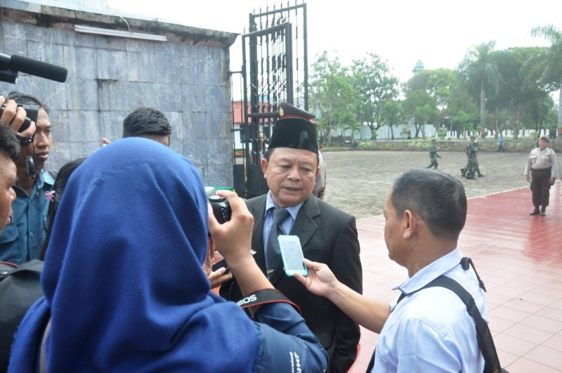 Kepala Dinas Sosial Provinsi Lampung, Sumarju Saeni.