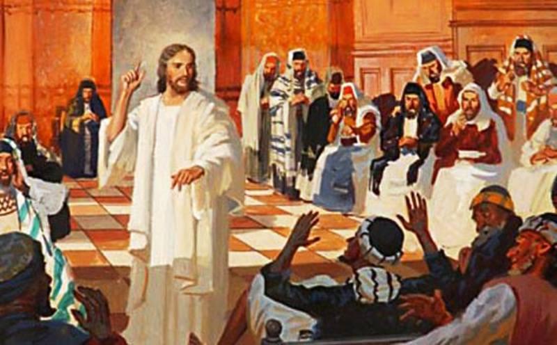 Ilustrasi Yesus Kristus. Credits : https://www.facebook.com/thomas.suratno.7