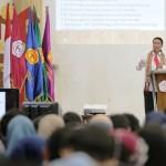 Pjs. Gubernur Didik Beri Kuliah Umum di Universitas Teknokrat Indonesia