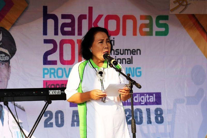 Kepala Dinas Perdagangan Provinsi Lampung Ferynia