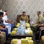 Pj. Sekdaprov Berpesan Agar Pemuda Berprestasi Binaan Dispora Harumkan Nama Lampung