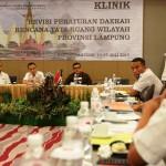 Pemprov Perjuangkan Revisi RTRW Provinsi Lampung Disetujui Kementerian ATR