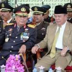 Dalam Momentum HUT Bhayangkara Ke-72, Wagub Bachtiar Kagumi Kekompakan TNI dan Polri di Provinsi Lampung