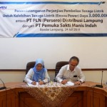 Penandatanganan Excess Power PLN Dengan PSMI Perkuat Kehandalan Listrik Lampung