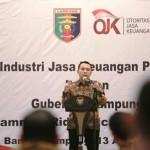 Gubernur Lampung tidak puas atas hasil pertumbuhan ekonomi di provinsi yang dipimpinnya