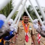 Kamabida Kwartir Daerah Lampung M. Ridho Ficardo Bakar Semangat Kader Pramuka